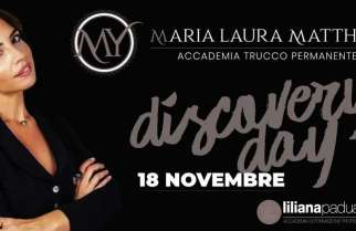 18 NOVEMBRE DISCOVERY DAY MARIA LAURA MATTHEY DERMO ACADEMY