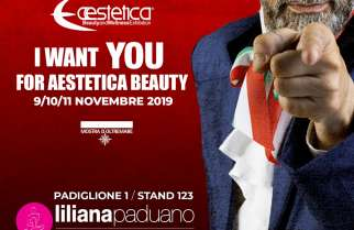L'ESTETICA DI LILIANA PADUANO AD AESTETICA BEAUTY & WELLNESS EXHIBITION 2019